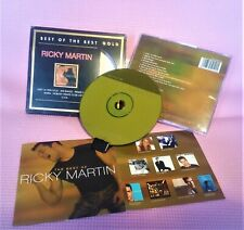 24K GOLD CD Ricky Martin LImited Gold Edition