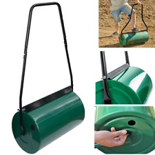 More details for garden lawn metal water sand filled manual grass roller 41cm x 31cm  uk