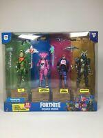 """Jazwares Fortnite Squad Mode 4 Figure Pack - Rex, Leader, Bomber, Ragnarok 4"""""""