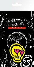 Gummi Schlüsselanhänger 5 SECONDS OF SUMMER - Love Skull Rubber Keyring NEU 157