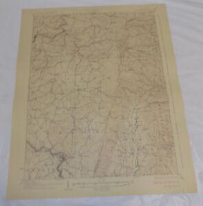 1927 Topographic Map BELINGTON QUADRANGLE, WV/BARBOUR/TUCKER/RANDOLPH COUNTY