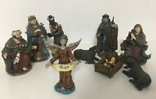 9 figuras de Belen nacimiento Navidad portal de Belen decoracion navideña nuevo