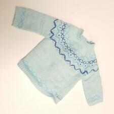 American Girl Knit Blue Sweater (A21-13)