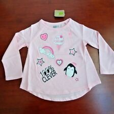 Baby girl long sleeve, Crazy 8, pink, ice cream, 18 -24 mos