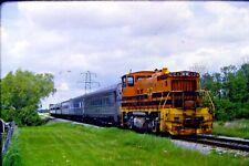 Original Kodachrome Slide Genesse & Wyoming Railrada Passenger Extra - Item CC29