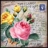 Classic Vintage Flower 5 - Counted Cross Stitch Patterns Chart Needlework