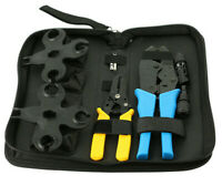 Solar Panel connector Tool Kit, Crimping kit, 2.5/4/6mm2 pv cable