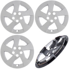 "NEW 4PC fits TOYOTA PRIUS 2010 2011 2012 15"" inch Silver Hub Caps WHEEL COVERS"