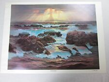1973 RETRIBUTION John Pitre Print Poster Visionary Surrealism Art RARE 12