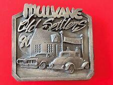 1990 Mulvane Old Settlers Siskiyou Limited Edition No.323 Belt  Buckle