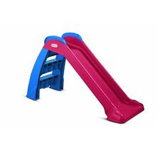 NEW Folding Compact Slide Kids Child Outdoor Indoor Toddler Play Fun Toy Yard