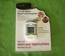 New Studio 35  1.5 Inch Digital Photo Frame Keychain W/ USB Cable Color Display
