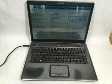 """Compaq Presario C700 Intel Pentium T2370 1.73 GHz 1 GB Ram 15.4"""" Boots- FT"""