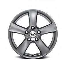 "Genuine Hyundai i30 2017 Onwards 15"" Alloy Wheel Grey - G2400ADE05"