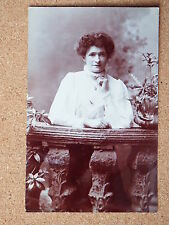 R&L Postcard: Vintage Photo of Edwardian Lady, Fashion/Clothes