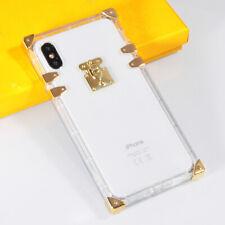 Klare Crystal Handy Hülle für iPhone Transparent Soft TPU Shockproof Case Cover