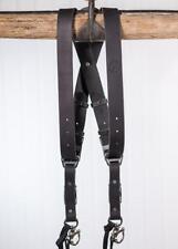 Medium Black Buffalo Leather HoldFast MoneyMaker Leather DSLR Harness NO D-RINGS
