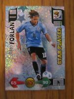 Panini World Cup South Africa 2010 - Star Player - Diego Forlan of Uruguay