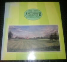 Auchterarder Golf Club Centenary 1892-1992 Rare