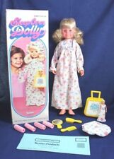 Vintage 2 Toy Dolls Kenner Sleep Over Dolly 1976 Complete Box Dusty Case Gown