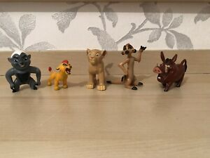 Disney Lion King Guard Toys / Figures / Cake Toppers Bundle Timone Pumba Simba
