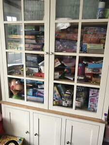 NEXT Shaftesbury Storage Cupboard Unit Display Cabinet