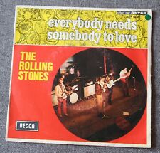Rolling Stones, everybody needs somebody to love, SP - 45 tours France - 1-71