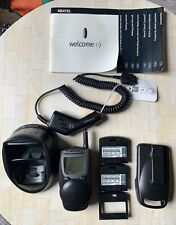MOTOROLA NEXTEL i1000 plus With 3 Battery, Auto Charger, Belt Clip. Working