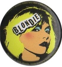 Blondie Deborah Debbie Harry 1 inch Button Warhol style Pin Badge