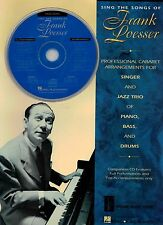 NEW Sings the Songs of Frank Loesser High Voice Piano Vocal Score CD Backing