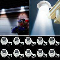 10X SOLAR POWERED LED GUTTER WALL FENCE LIGHTS OUTDOOR ROOF SOLAR GARDEN LIGHTS