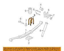 Hummer GM OEM 06-10 H3 Rear Suspension-U-bolt 11610227