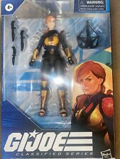 "2020 HASBRO G.I. JOE CLASSIFIED SERIES 6"" ACTION FIGURE #05 SCARLETT NEW MISB"