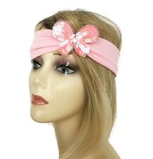 Gorgeous pink sequin butterfly kylie hair band bandeau *NEW* from UK seller