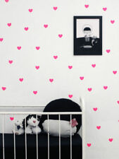 45pcs Heart Wall Sticker Removable Vinyl Art Home Kid's Room Decor Decals Mural