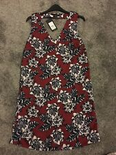 NEW LOOK floral print scallop tunic dress size 12 BNWT