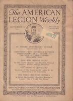 The American Legion Magazine St. Mihiel Anniversary September 10 1920 032018nonr