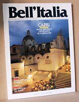 Bell'italia numero 71 marzo 1992 - Capri Sicilia Vulci