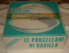 Le Porcellane di Barilla - Mulino Bianco - Piatto tondo + piatto piano NUOVO SIG