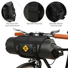 Waterproof Bicycle Handlebar Bag Cycling MTB Bike Front Basket Bag Pannier I2O6
