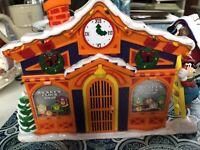 Mr. Christmas Mickeys Clock Shop! Vintage 1993! . Still Working Disney