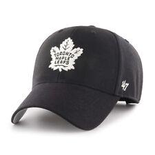 New Toronto Maple Leafs Nhl Hockey Black 47 Brand Mvp Adjustable Cap Hat