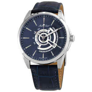Mathey-Tissot Mondo Quartz Blue Dial Men's Watch H711ABU