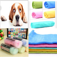 Pet Dog Cat With Absorbent Soft Quick-dry Towel Bath Microfiber Drying Cloth
