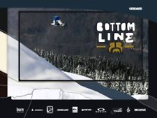 Bottom Line DVD by Pirates Productions Movie Video Snowboard Snowboarding