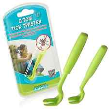 O'tom Tick Twister - Tick Removal Tools - 2 Pack