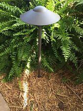 LED 6 Pk Outdoor low voltage landscape path light SAGITARIUS Br cast aluminum