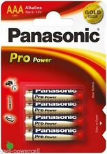 Projektorglühlampen 1.5 V Panasonic AAA Einweg-Batterien für den Haushalt