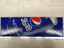 Pepsi-Cola Real Sugar, 12 pack, 12 oz cans Pop Soft Drink