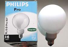 Philips Energiesparlampe Sparlampe Globe PL E-D Pro 16Watt 16 W Watt E27 NEU